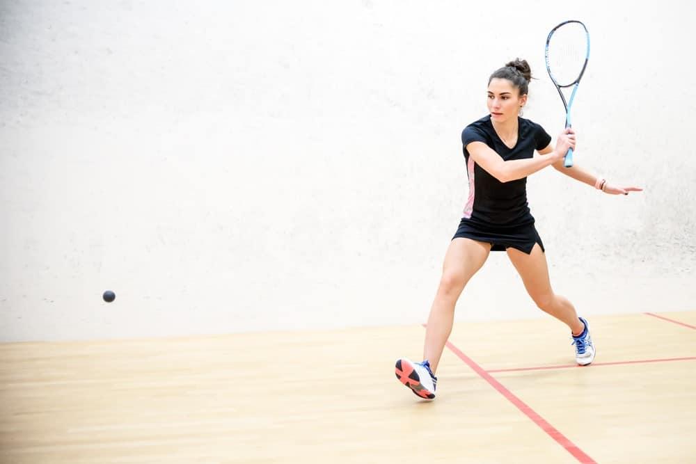 squash deporte de raqueta