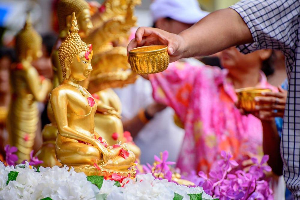 donde celebrar el Songkran
