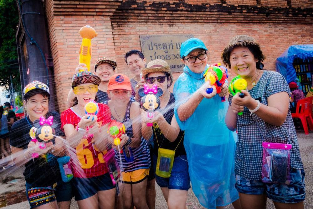 Tailandia y el Songkran