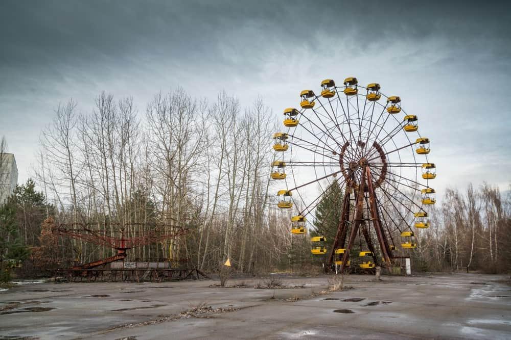turismo oscuro visitar Chernóbil