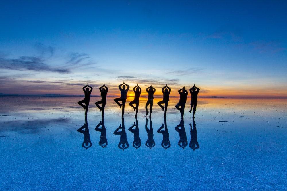 reflejos en Uyuni