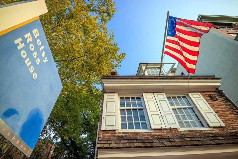 La casa de Betsy Ross