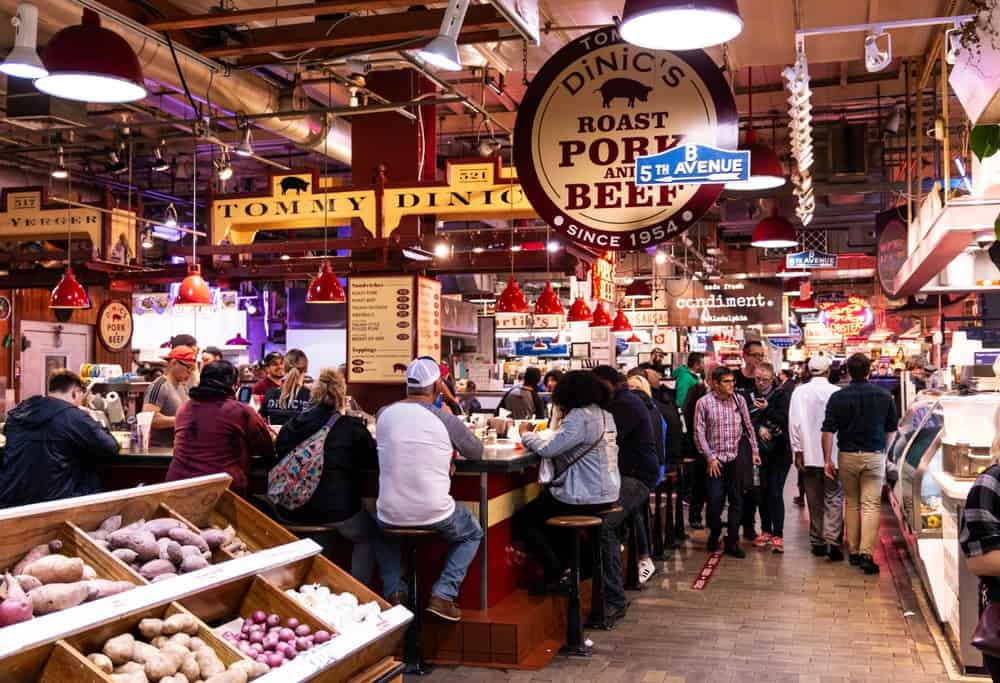mercado de Reading Terminal Market