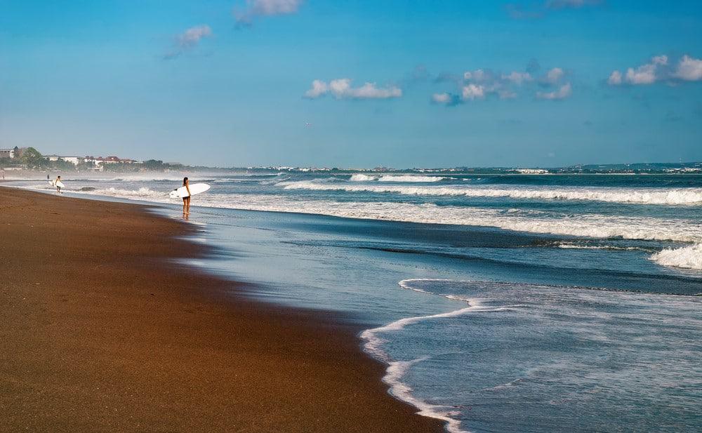 Playas de Cabggu Bali