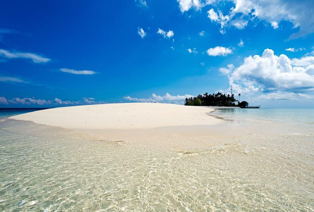 Semporna una de las mejores playas de Malasia