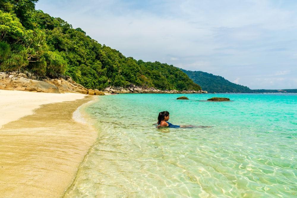 playa de Perhentian Besar en Malasia