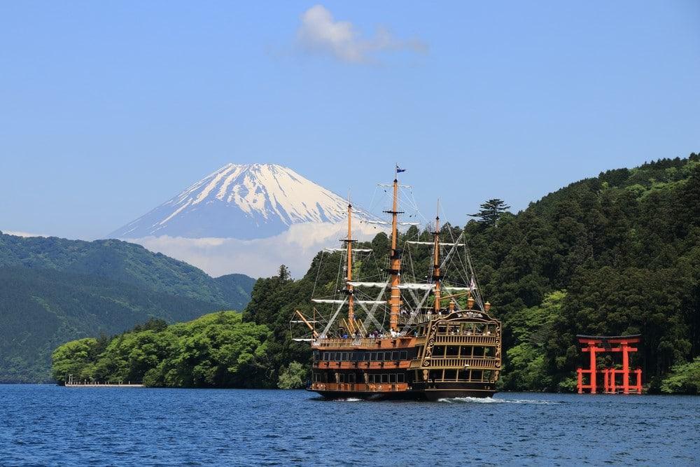ver el Fuji desde Tokio