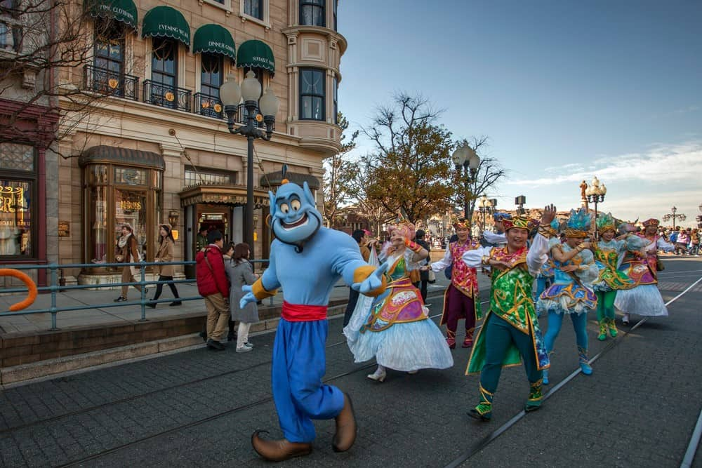 ir a Disneyland Tokio