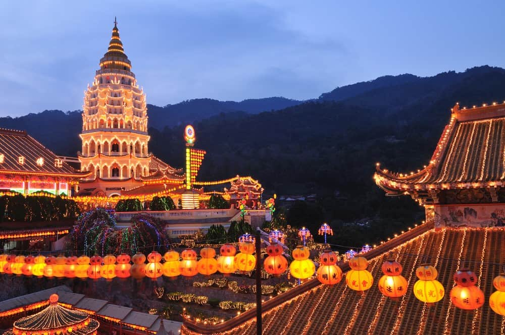 templo budista de Penang