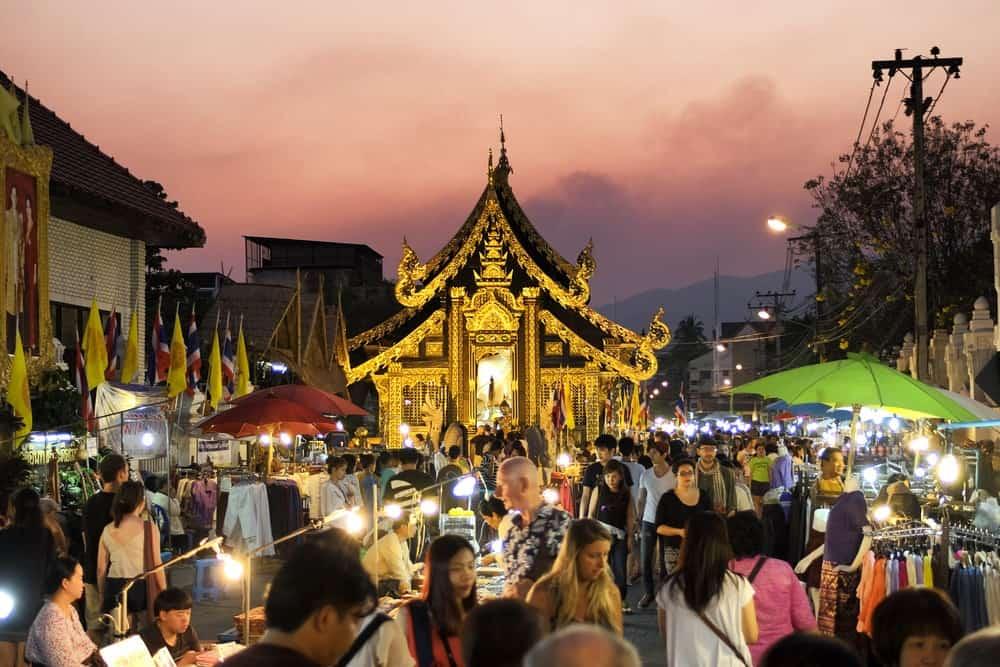 mercados nocturnos de Chiang Mai