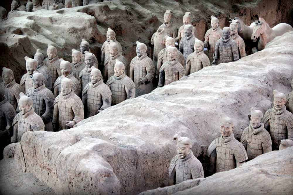 ver los Guerreros de Xi'am Terracota en China