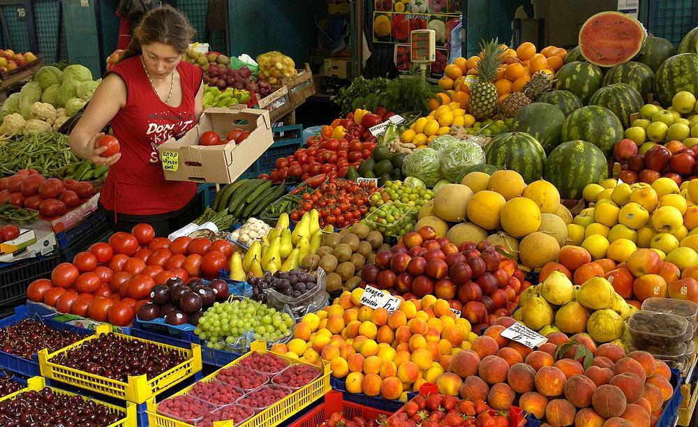 mercados de Sofia Bulgaria
