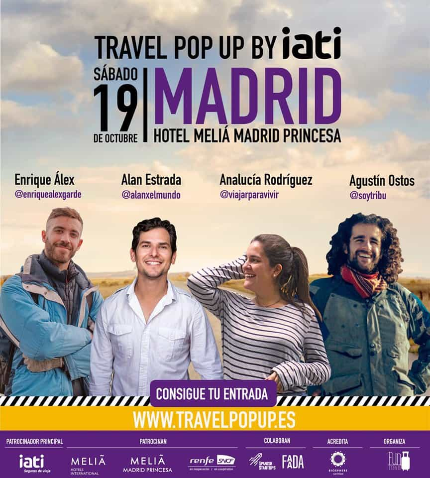 Travel Pop Up by IATI