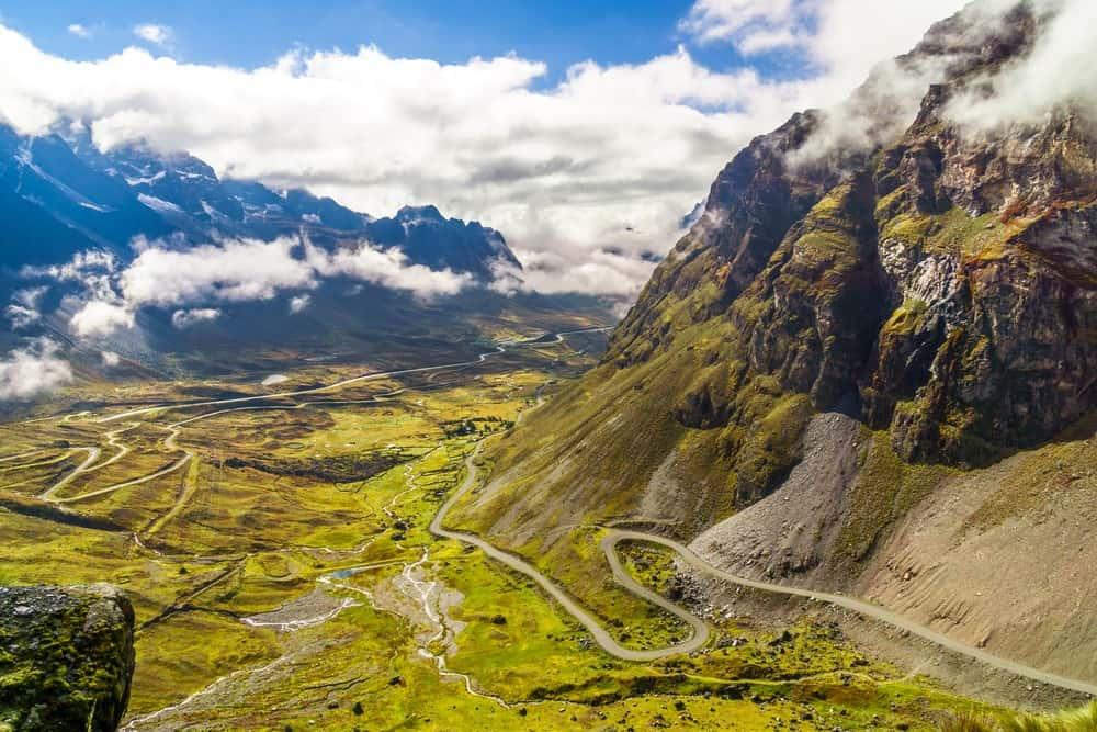 carretera de la Muerte en Bolivia