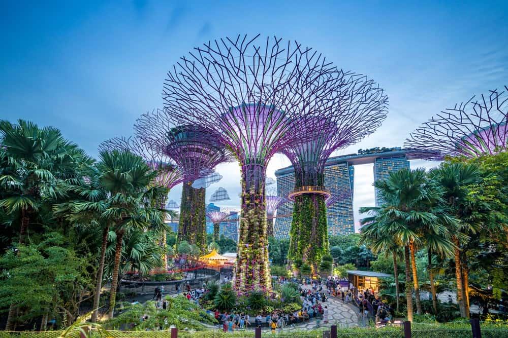 viajar con niños a Singapur