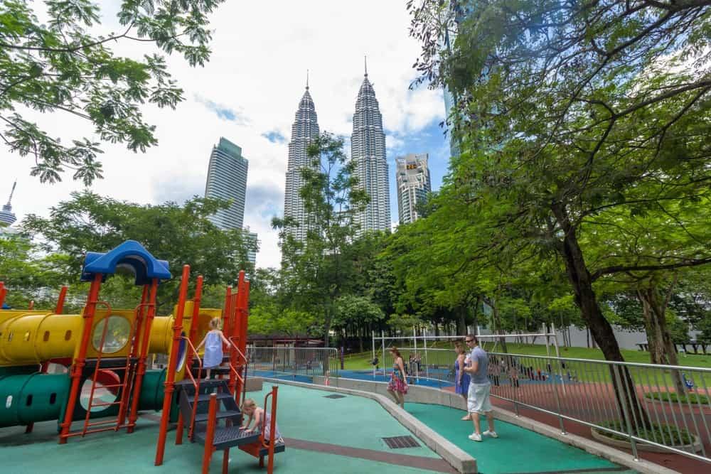 viajar con niños a Malasia
