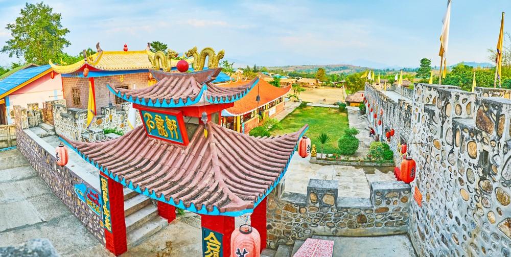 Santichon Village o el pueblo chino de Pai