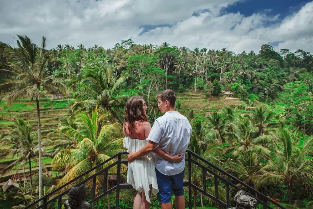 viajar a Bali en pareja