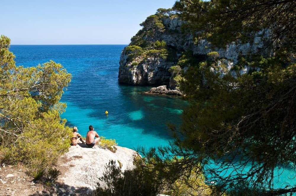 escapada romantica a Menorca