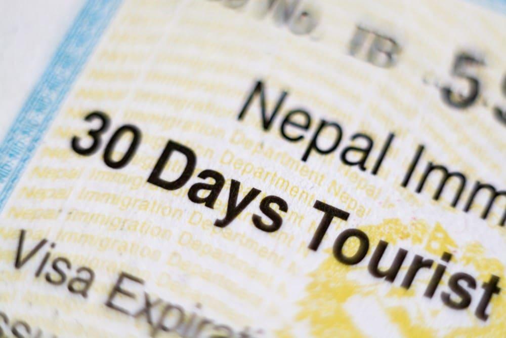 visado para viajar a Nepal