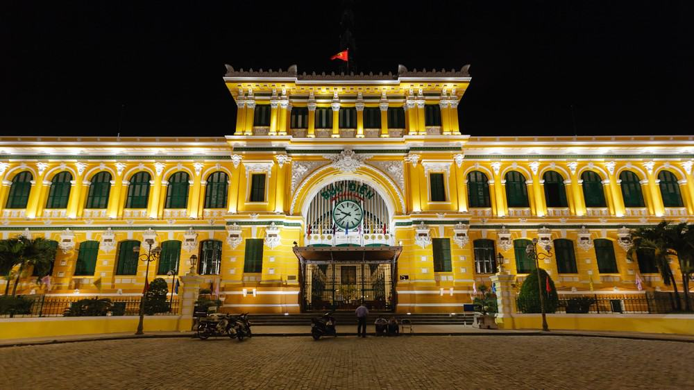 Saigon Centra Post Office