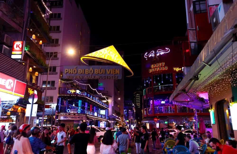 calle Calle Pham Ngu Lau de Vietnam