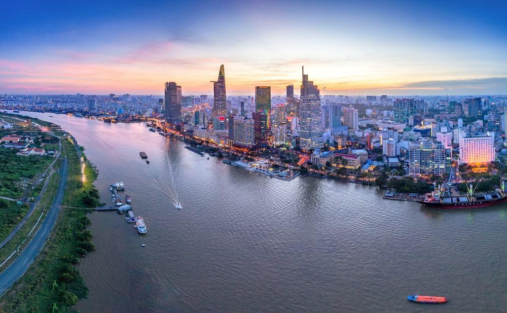 Ho Chi Minh, mejores vistas desde el mirador
