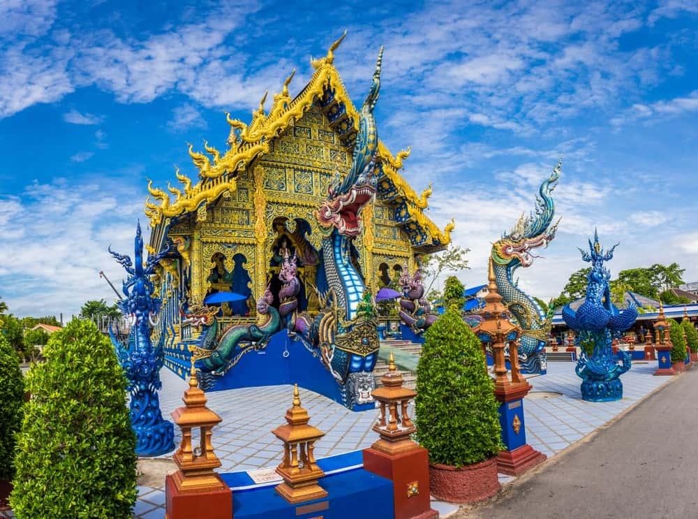 visitar Templo Azul Chiang Rai