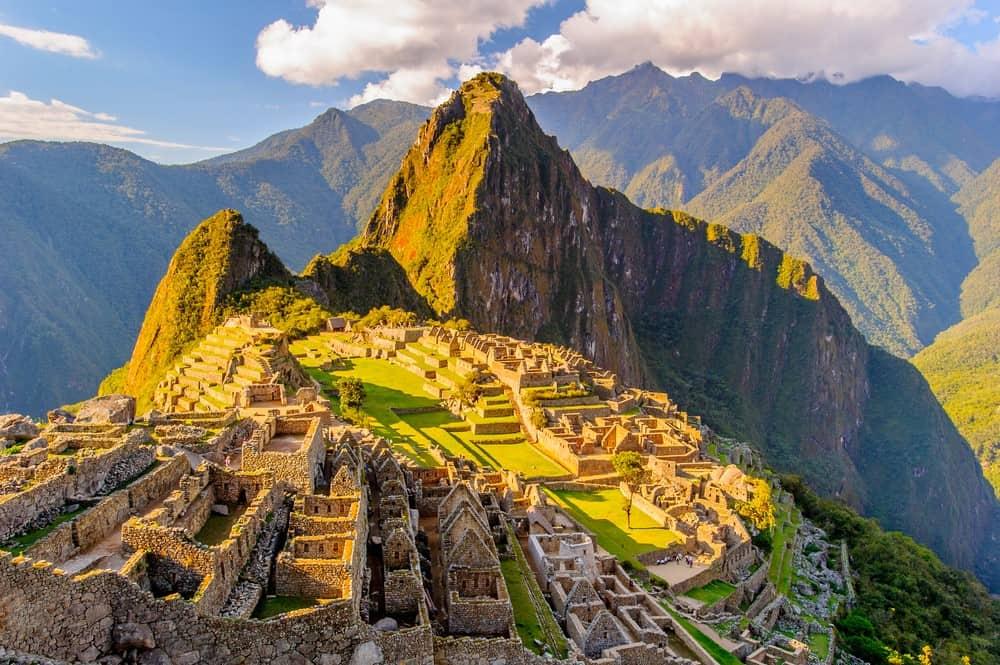 Machu Picchu en itinerario de Perú de 15 días