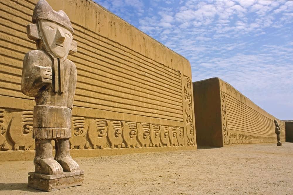 zona arqueológica de Trujillo