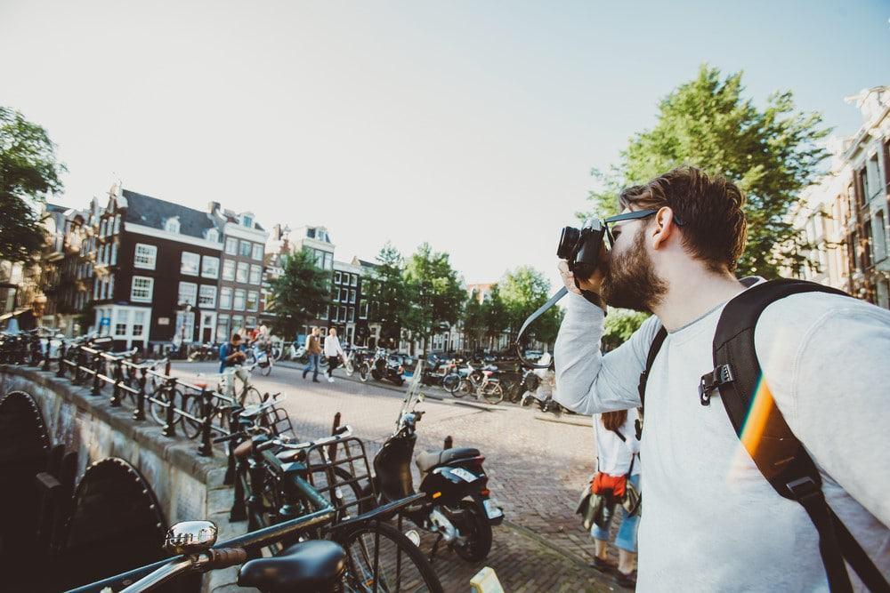 viajar en solitario a Ámsterdam