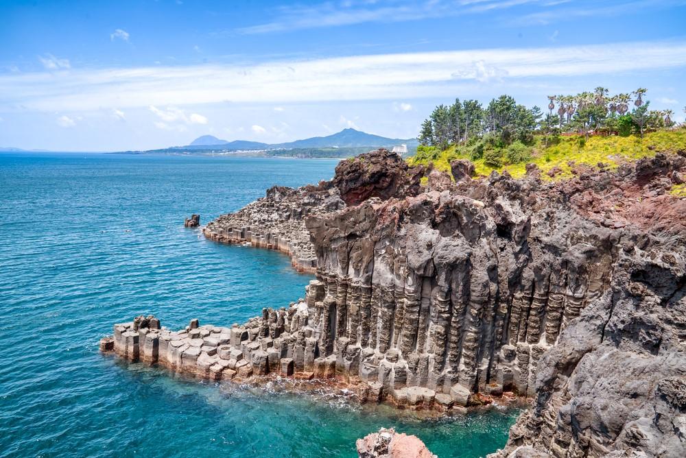 acantilados de Daepo Jusangjeolli
