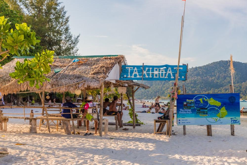 snorkel en Koh Lipe