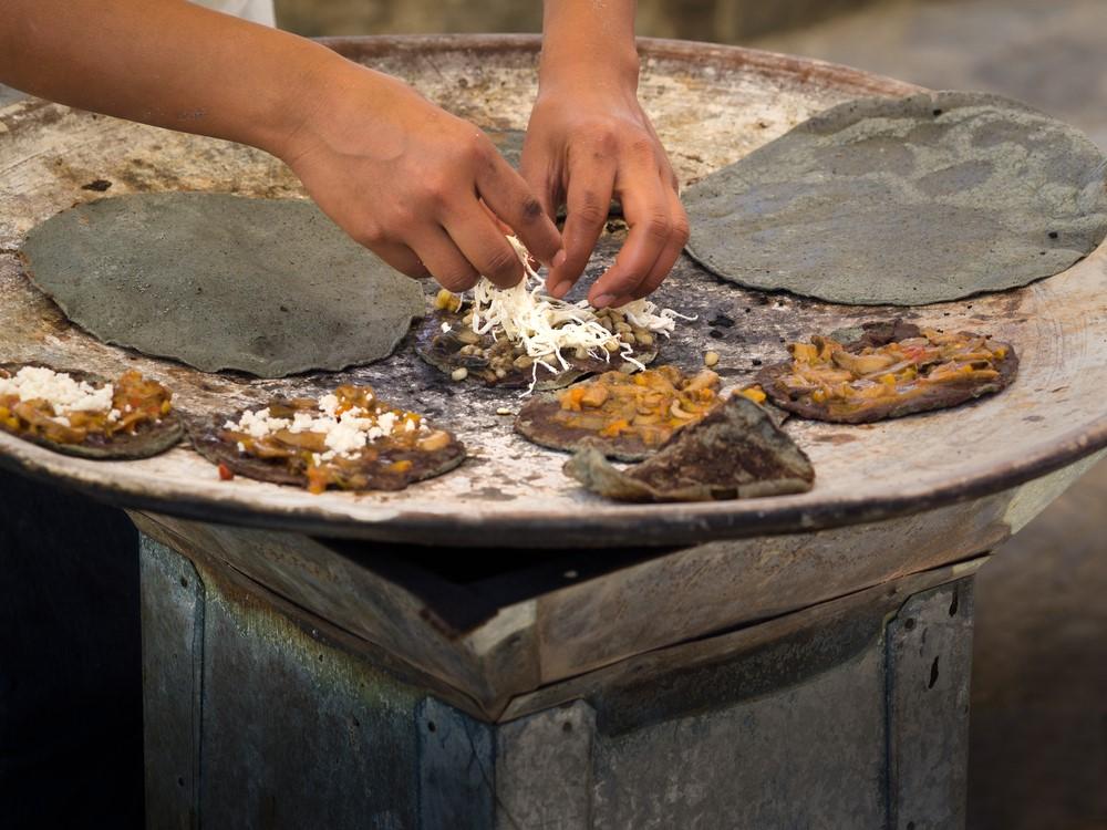 mercado de abastos de Oaxaca