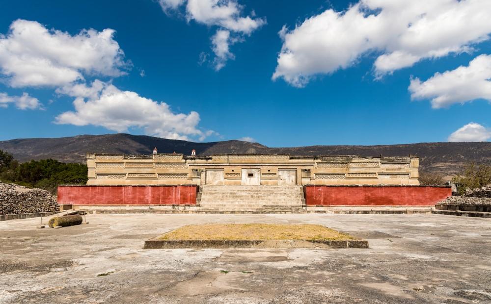 ruinas de Mitla cerca de Oaxaca