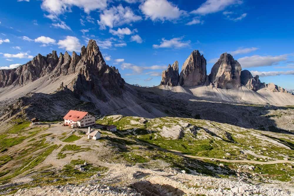 mejores vistas en Los Dolomitas