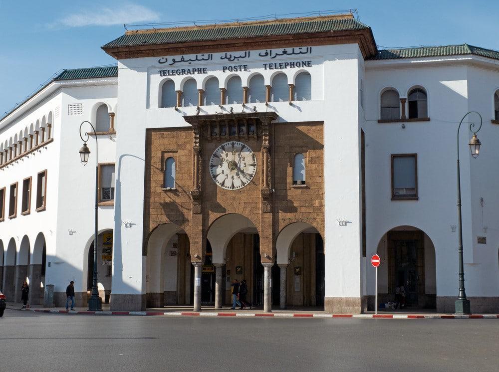 edificio de Correos de Rabat