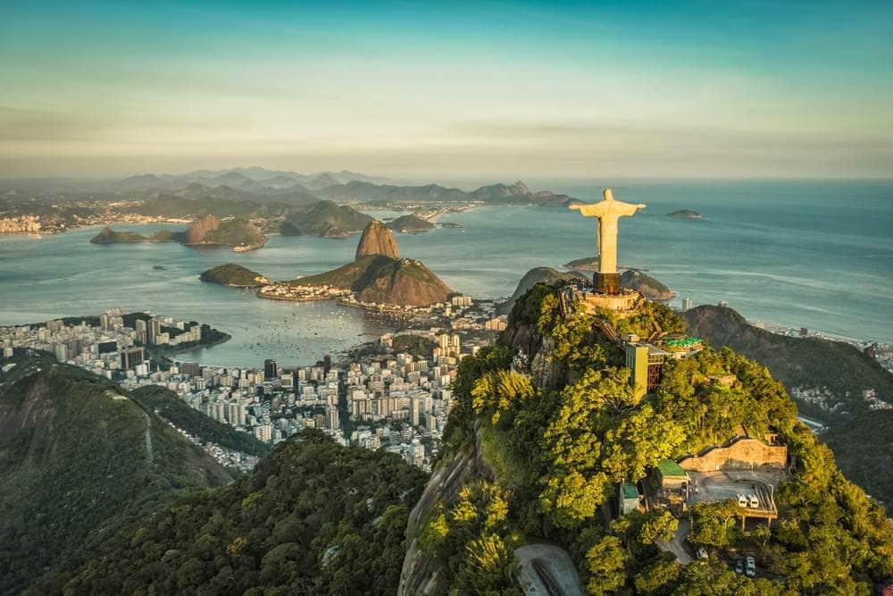 ruta de viaje 2 semanas en Brasil