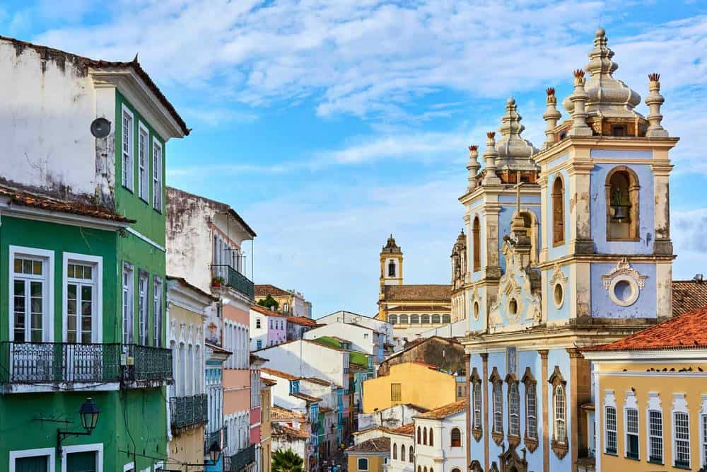 itinerario de viaje 15 días por Brasil