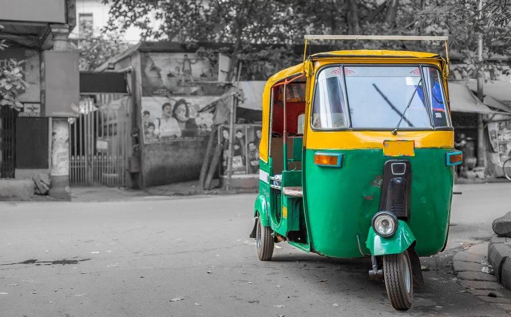 transporte en India, cómo moverse