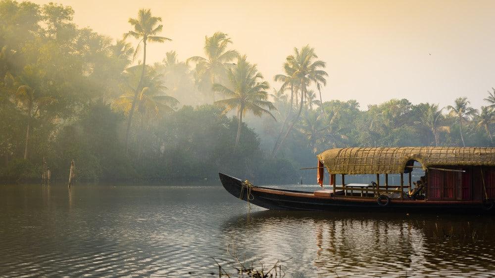 incluir Kerala en el itinerario por India