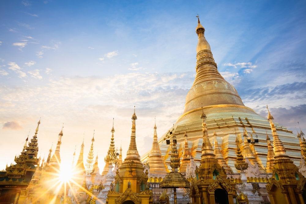 ruta de dos semanas de viaje a Myanamar Birmania