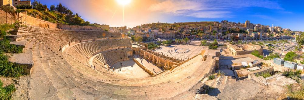 El Teatro romano de Amán