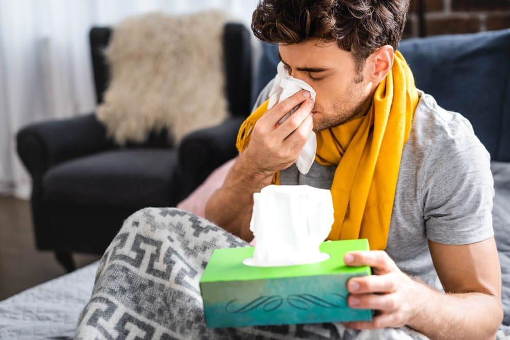 síntomas de gripe