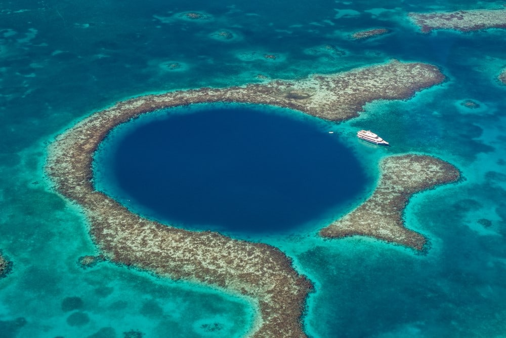 agujero azul de Belice