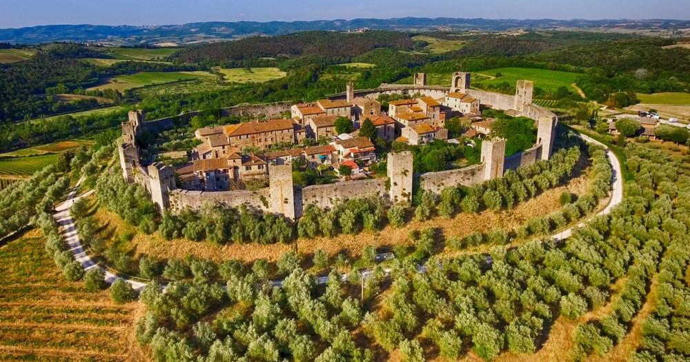 ruta de viaje por la Toscana en 12 días