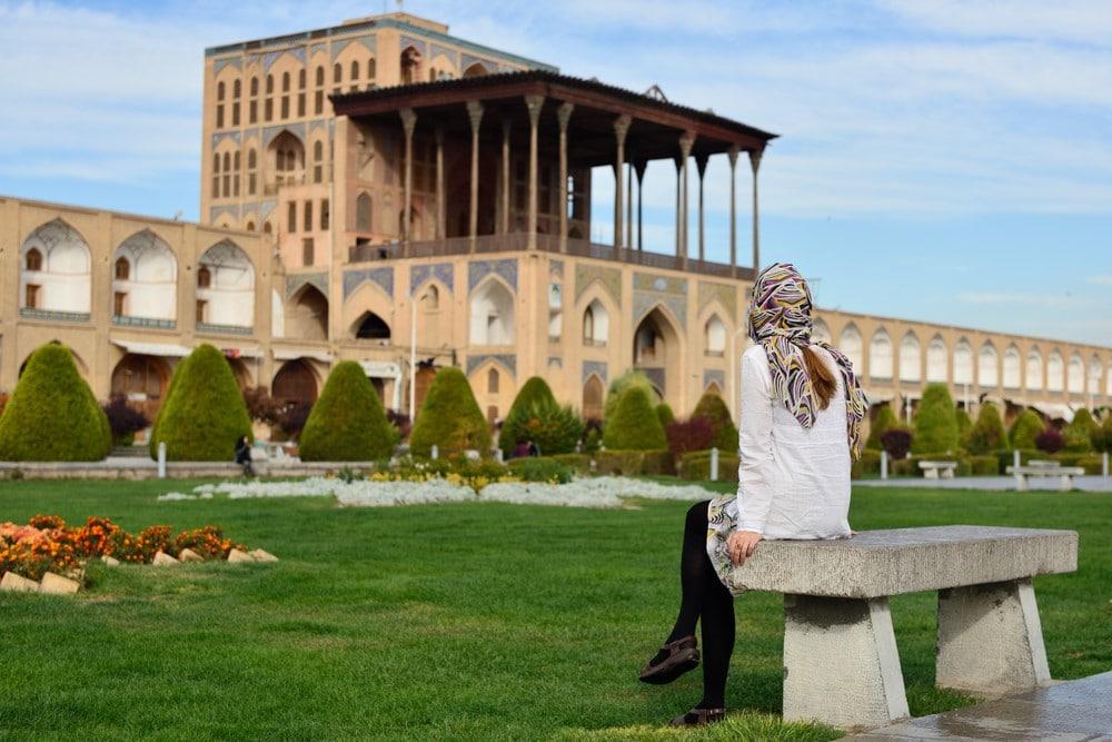 hijab para mujeres turistas en Irán