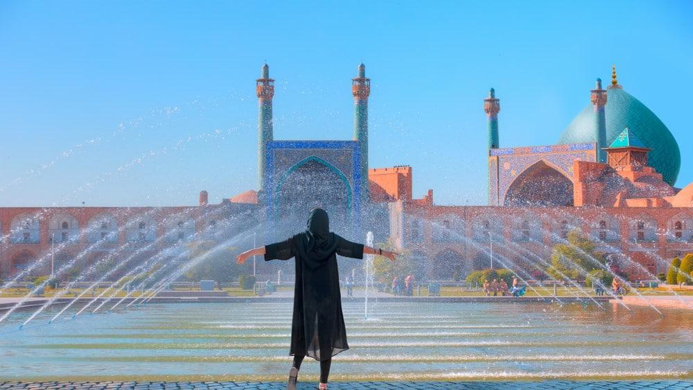 viajar a Irán sola como mujer