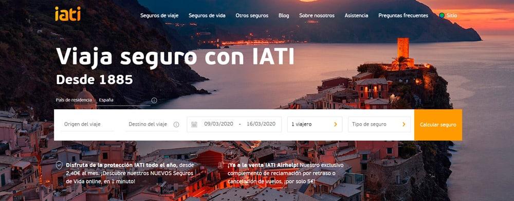 Nueva web IATI Seguros