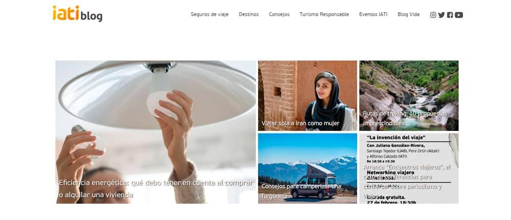 nuevo blog de viajes IATI seguros